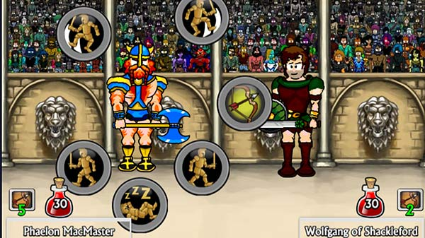Swords and Sandals Champion Sprint Screenshot