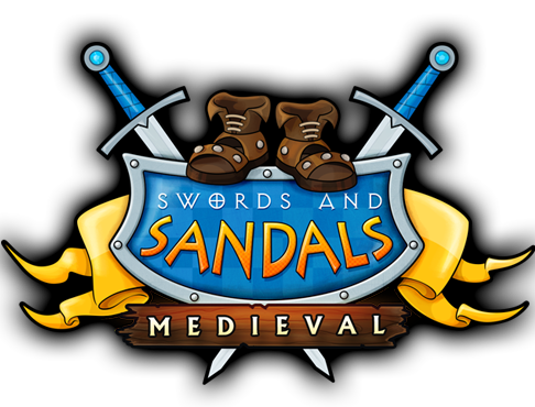 Swords and Sandals Medieval Logo
